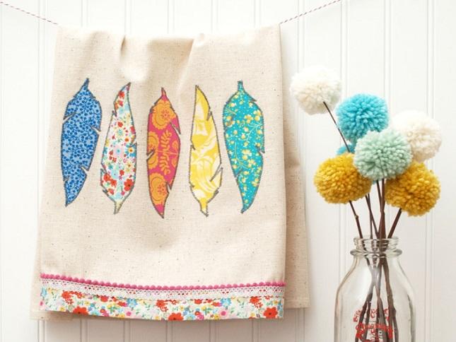 красивое полотенце для всех