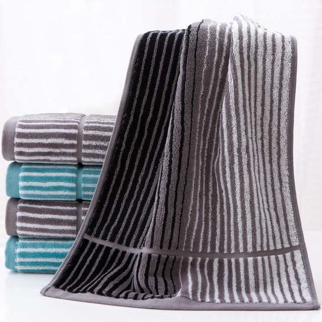 Классика жанра: полосатые полотенца