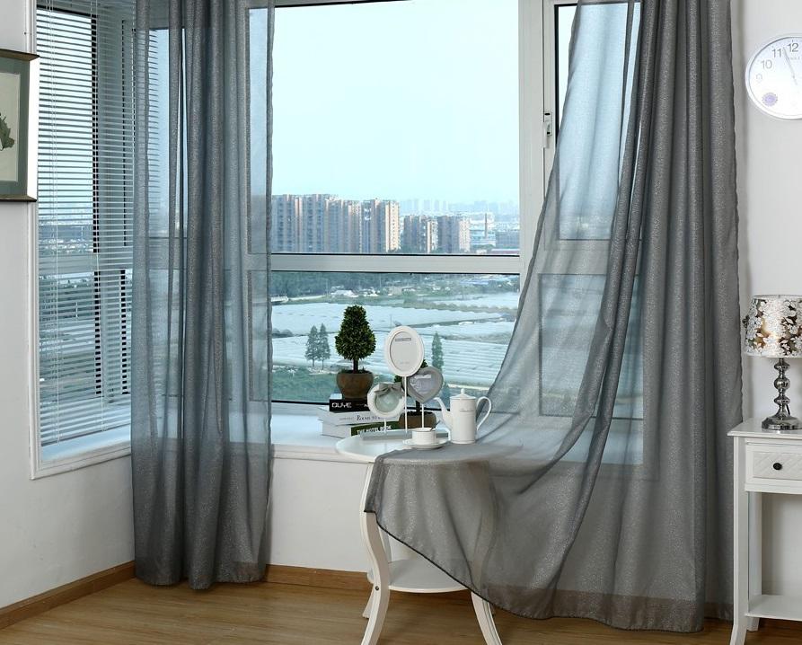 современный тюль на окна