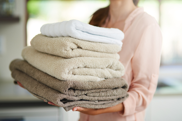 уход за полотенцами