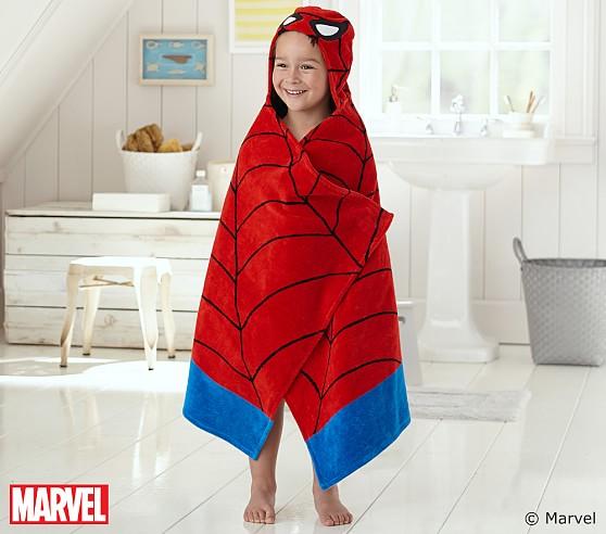 полотенце с человеком-пауком