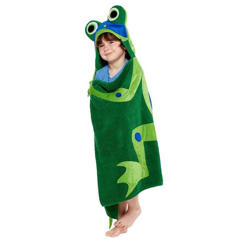 полотенце для ребенка в виде лягушки