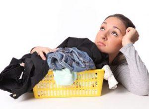 избавиться от запаха на ткани