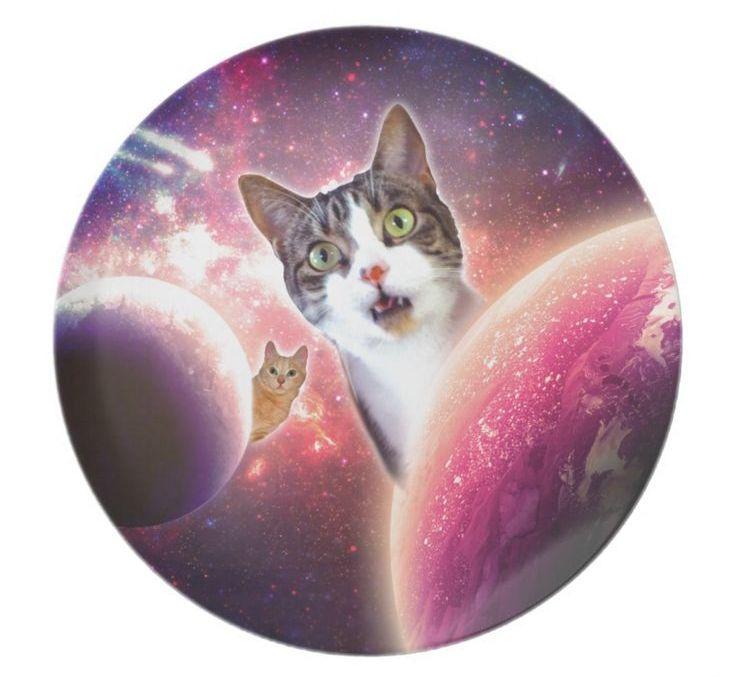полотенце космический кот