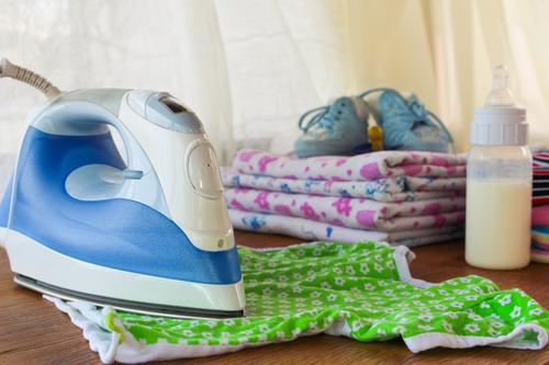 гладить вещи новорожденного