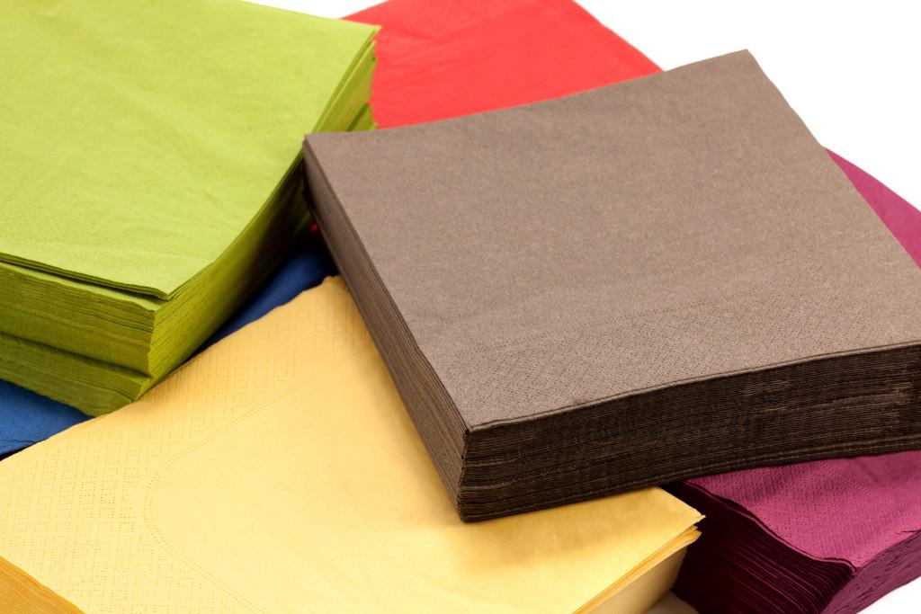 бумажные салфетки для стола