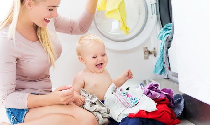 глажка вещей для новорожденных