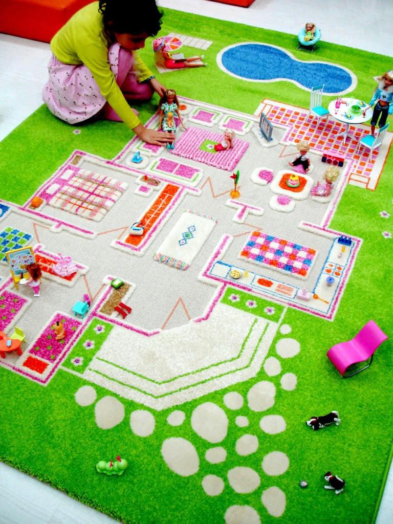 Как сшить трехмерный коврик для ребенка?