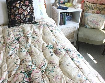 винтажное постельное белье