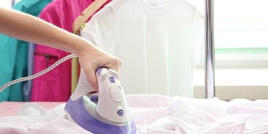 как правильно гладить шелк