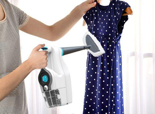 отпарить одежду отпаривателем