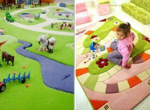 трехмерный коврик для ребенка