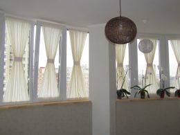 красивые шторы без карниза