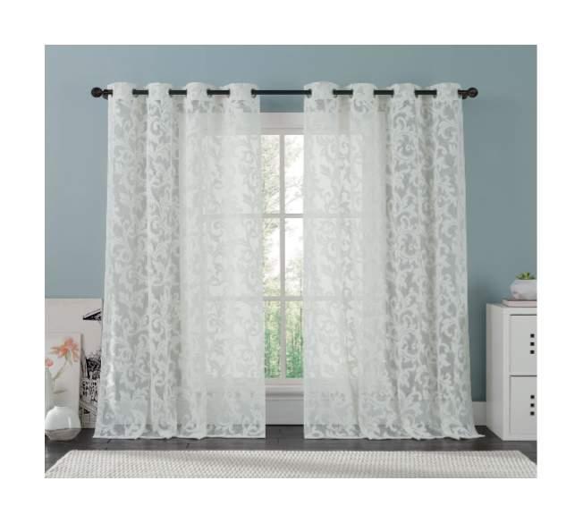 Ажурные шторы, тюли и ламбрекены – идеальное дополнение для вашего дома