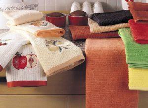 выварить кухонные полотенца