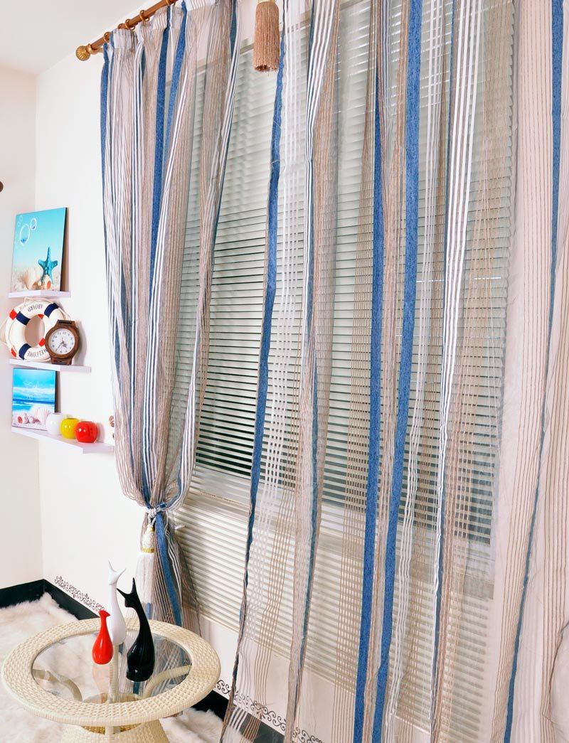 Шторы из органзы в детской комнате