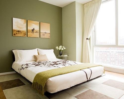 спальня в стиле феншуй земля