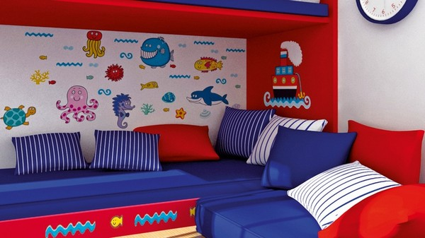 декоративные подушки в детскую