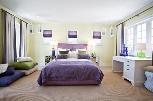 спальня в стиле феншуй