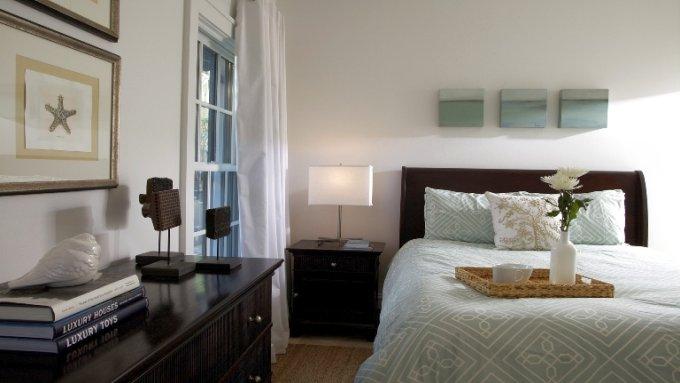 интерьер спальни в стиле феншуй