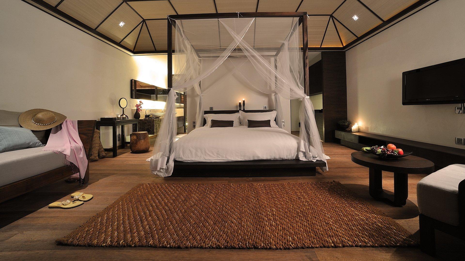 выбор ковра в спальню