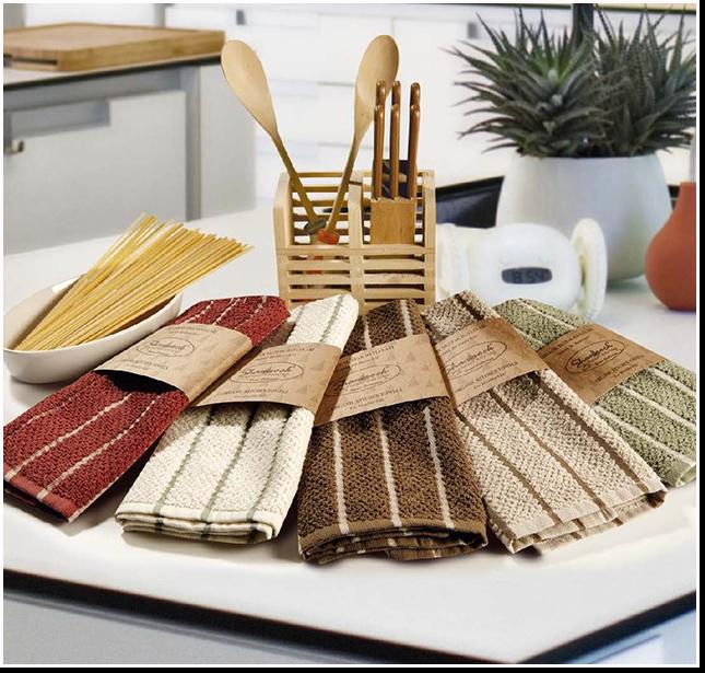 выварка кухонных полотенец