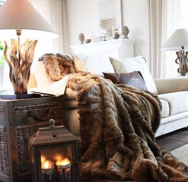Покрывала в интерьере: немного тепла для вашего дома