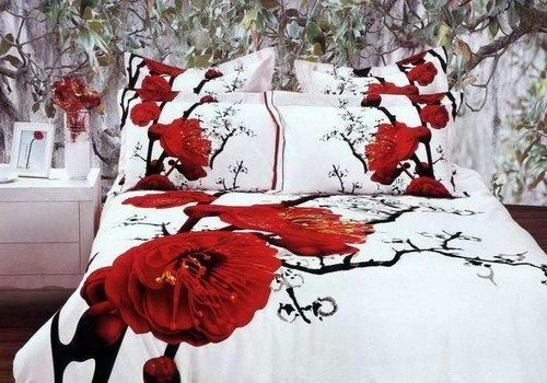 Постельное белье с 3D-эффектом: необычный элемент в спальне