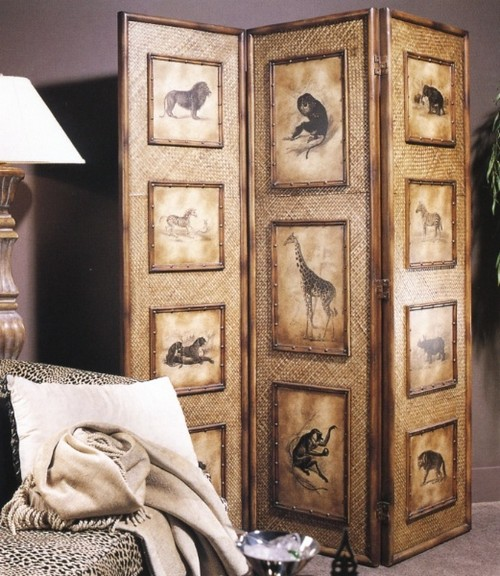 Декоративные ширмы для домашнего интерьера: как грамотно вписать ширму в дизайн дома?