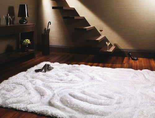 скульптурный ковры в интерьере