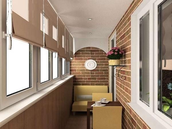 Разнообразие дизайна – жалюзи на балконе: разновидности и особенности