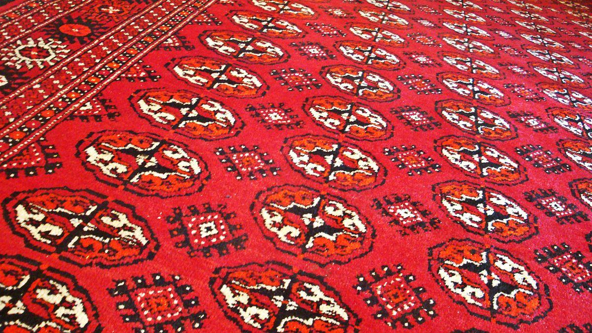 Сокровища Туркменистана - ковры
