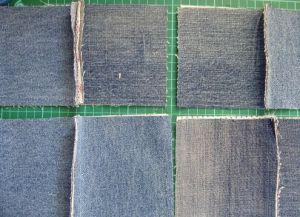 Покрывало из старых джинсов: мастер-класс