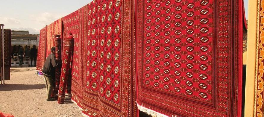 Афганский ковер ручной работы от древнего народа
