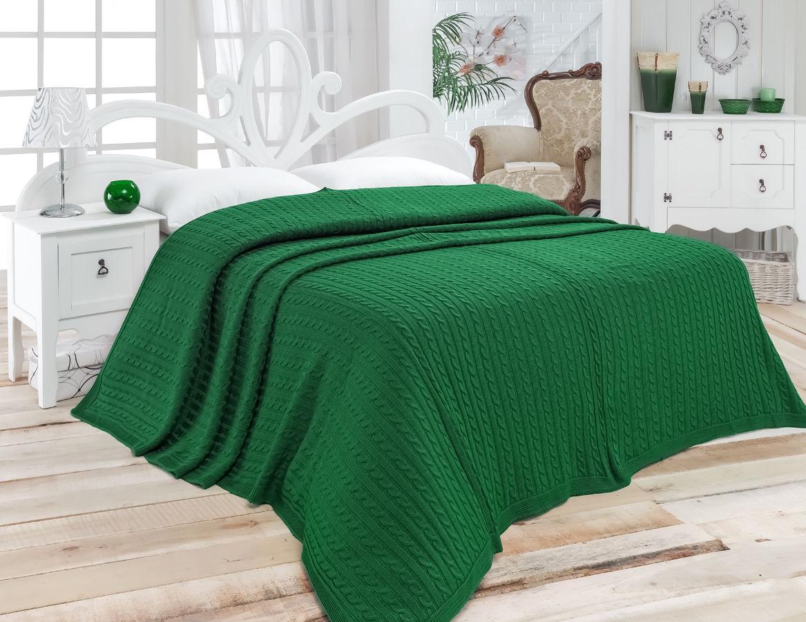 Зеленые покрывала: как вписать в интерьер