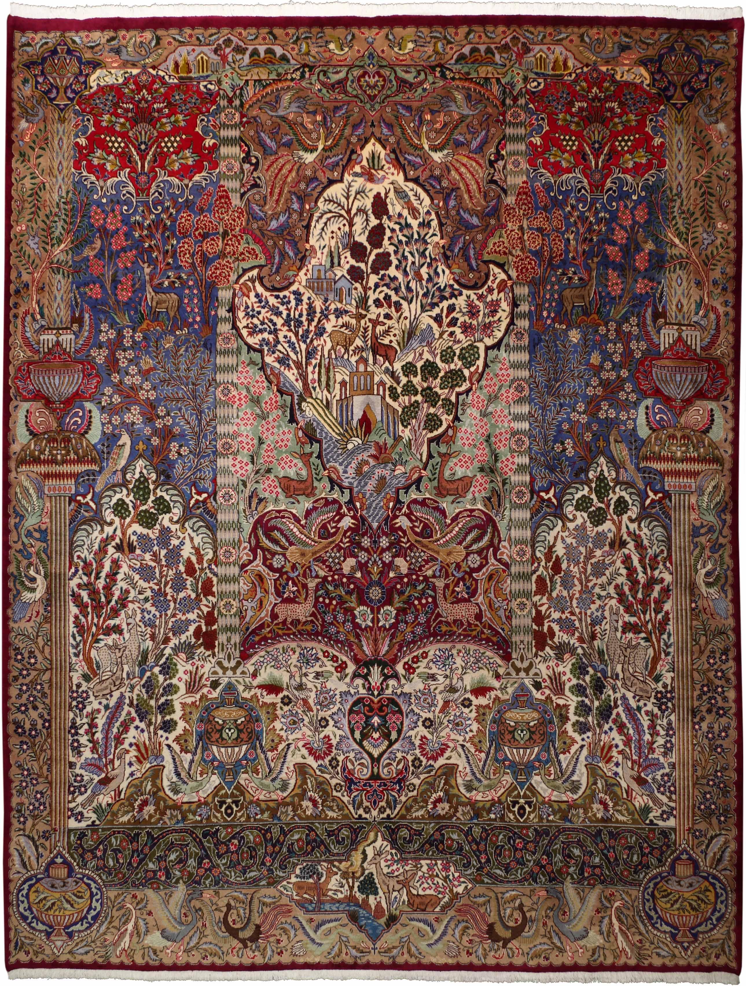 Редкие ковры Монгольской Империи и их современные аналоги