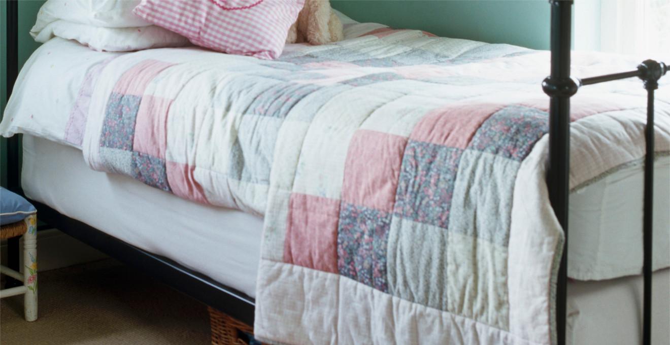 Как сшить покрывало на кровать?