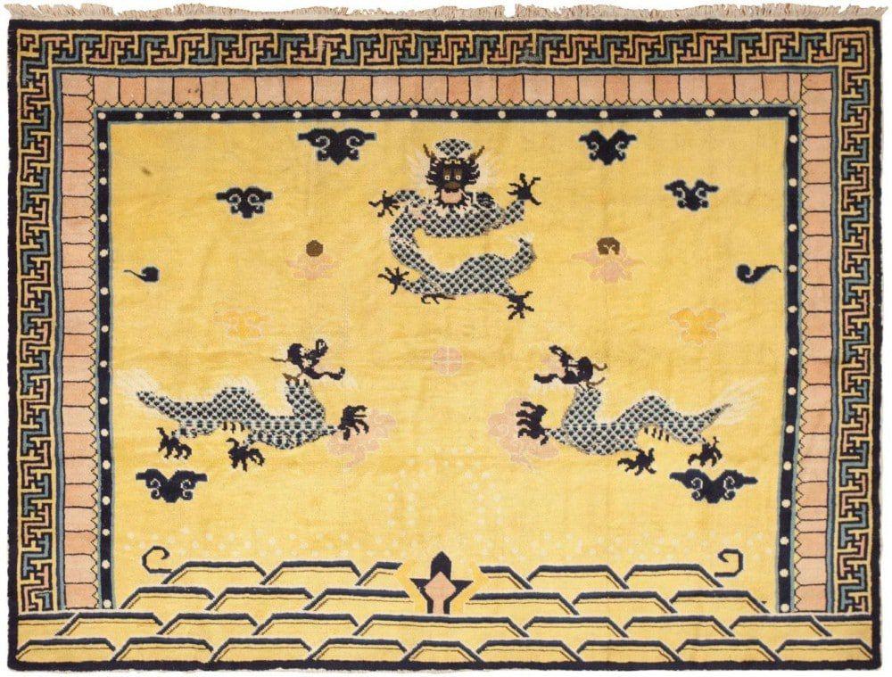 История китайского ковра
