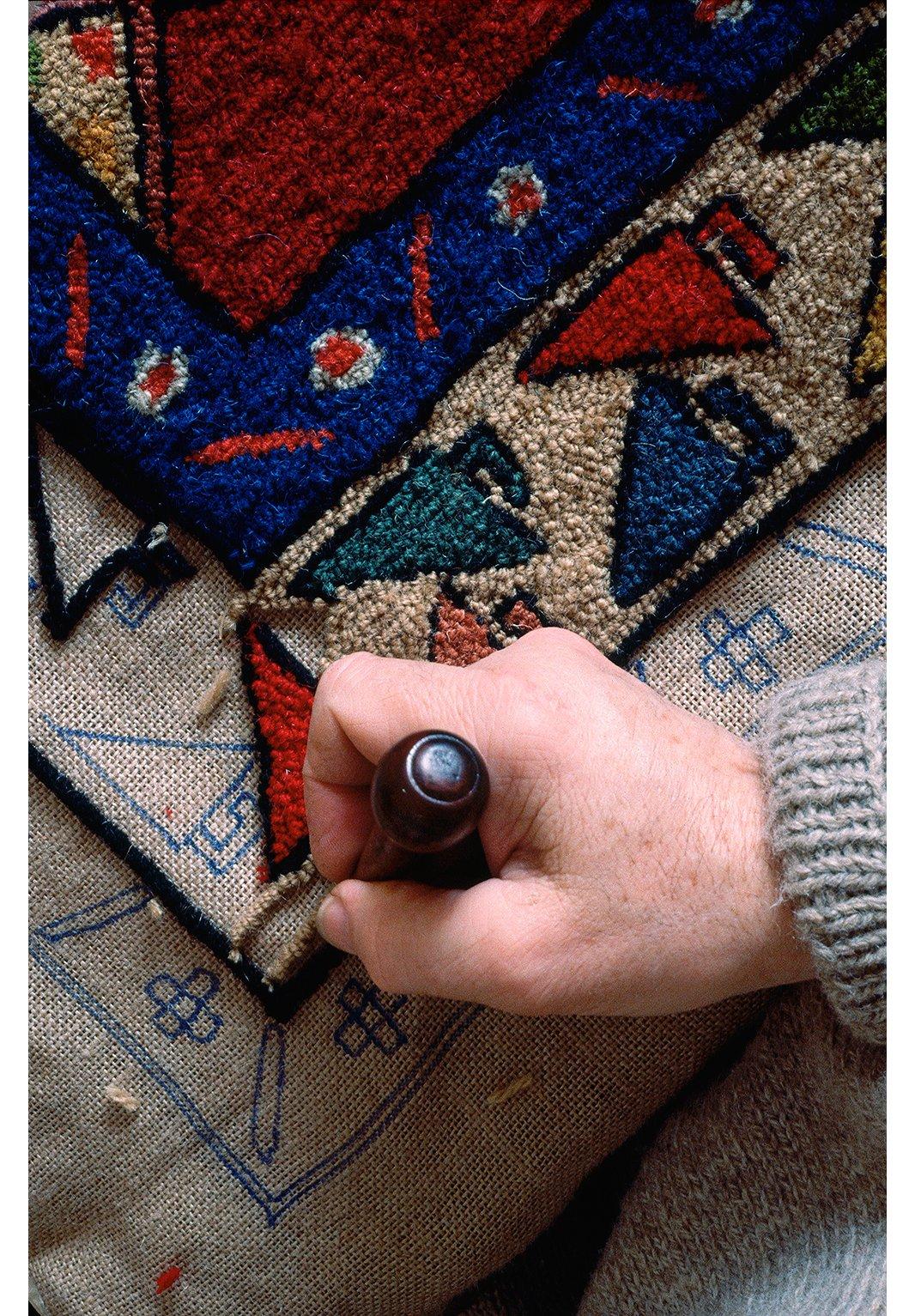 тафтинговые ковры своими руками