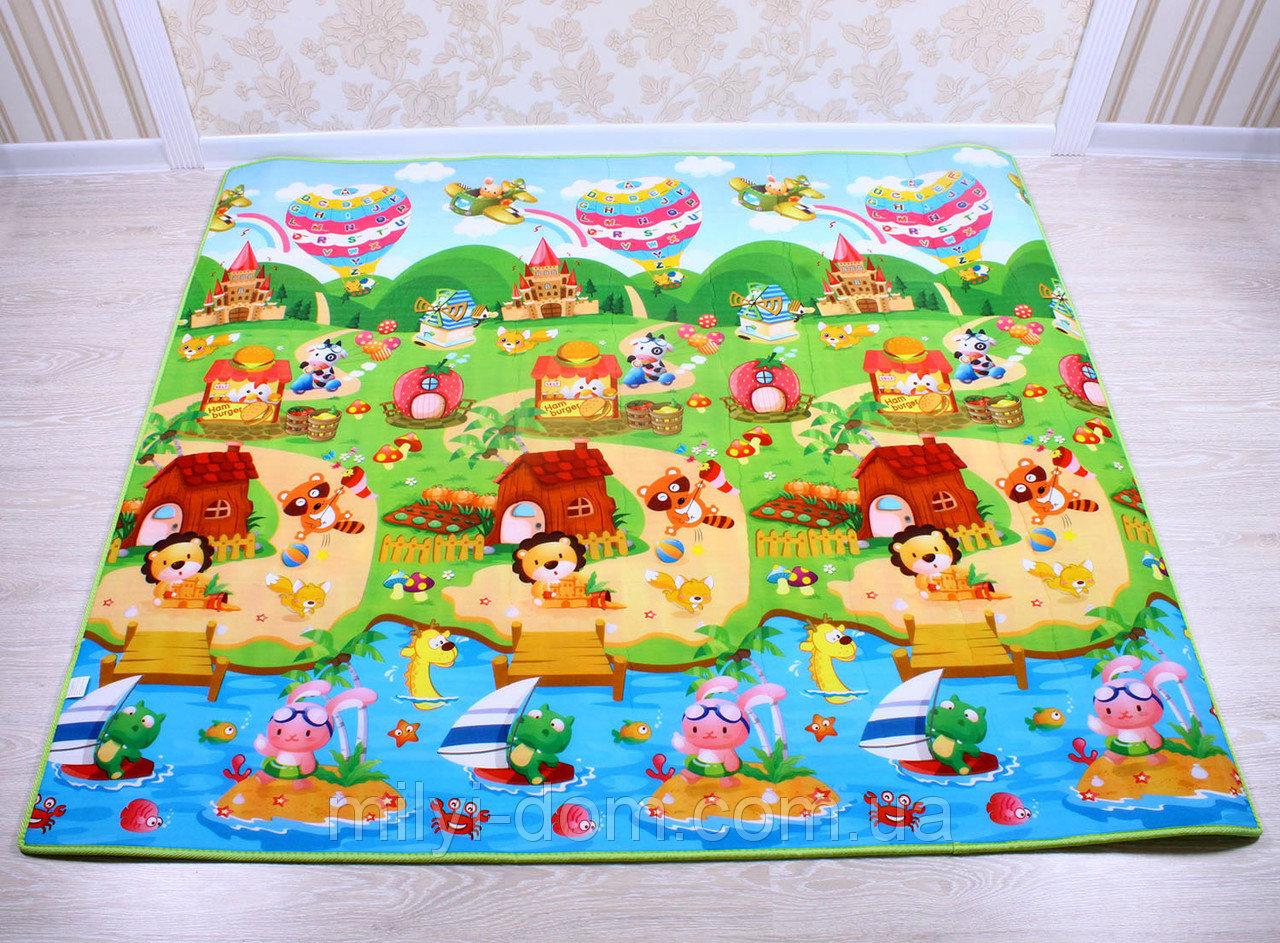 Детский развивающий коврик: познаем мир с пеленок