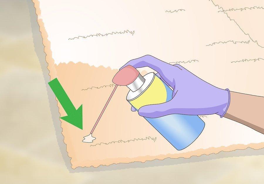 Как вывести пятно от лизуна на ковре?