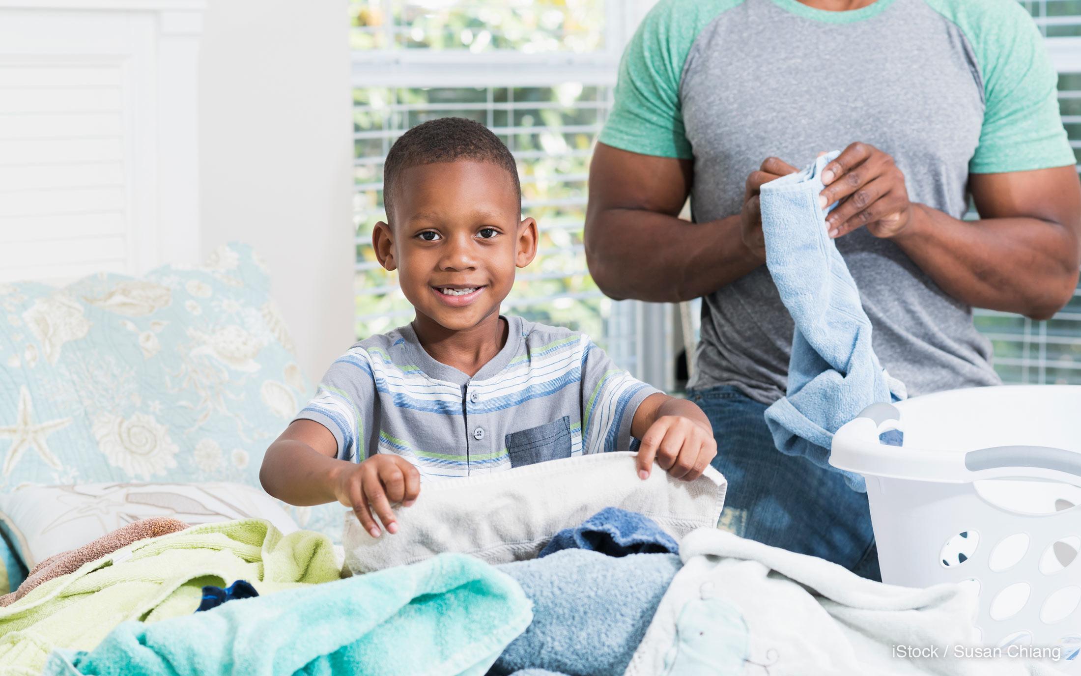Обучение детей стирке: как привить детям чистоплотность?