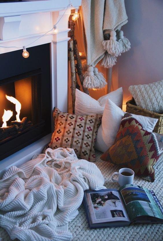 Домашний текстиль для осеннего интерьера: добавляем краски осени