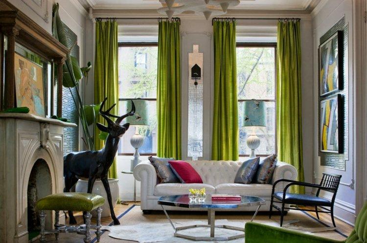 Вдохновляющие идеи для штор в гостиную – тенденции 2019