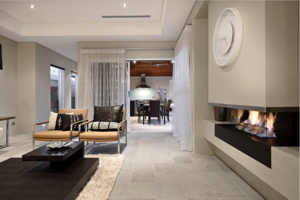 Как отделить пространство в квартире при помощи занавесок?