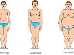 мужские типы телосложения