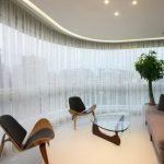 Тюль без штор в интерьере зала — новинки 2020 года и советы по выбору