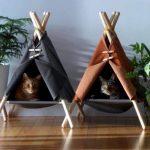 Как изготовить домик для кошки своими руками: выкройки и пошаговые инструкции