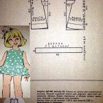 Простые выкройки детских платьев на девочку 5 лет