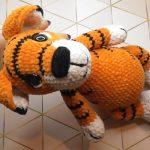 Тигр амигуруми крючком: схемы и описание символа 2022 года